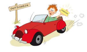 Gutscheine für Fahrstunden