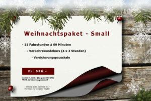weihnachtsangebot Paket Small