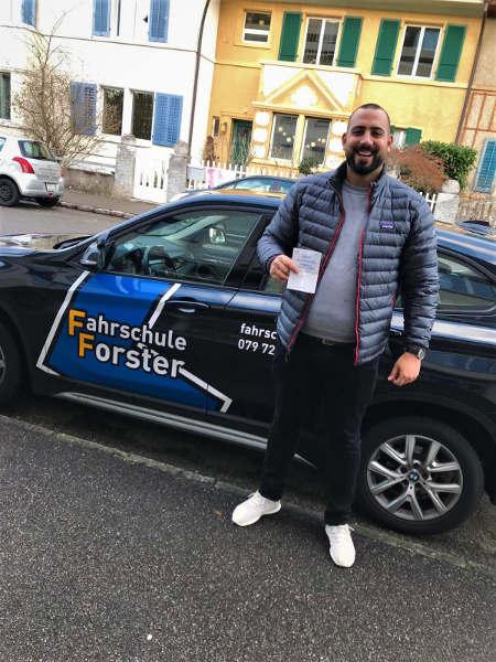 Praktische Führerprüfung - Ergin - 02.01.2019