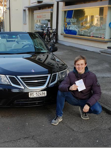 Praktische Führerprüfung - Roman - 25.01.2019