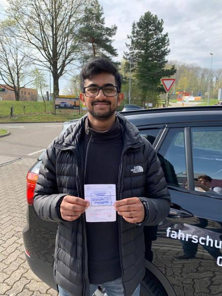 Praktische Führerprüfung - Thilo - 16.04.2019