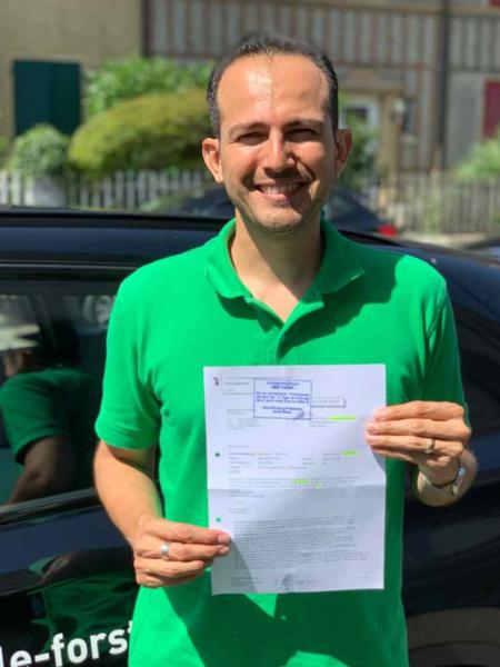 Praktische Führerprüfung - Mario - 26.06.2019