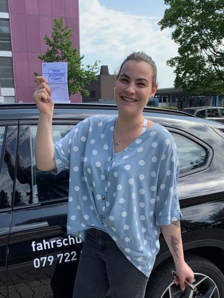 Praktische Führerprüfung - Laura - 02.07.2019