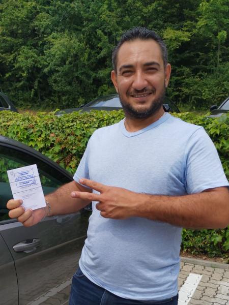 Praktische Führerprüfung - Ahmad - 26.07.2019