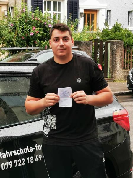 Praktische Führerprüfung - Marko - 07.08.2019