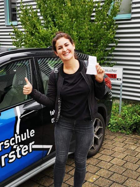 Praktische Führerprüfung - Caroline - 19.08.2019