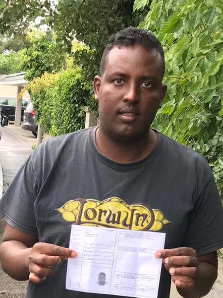 Praktische Führerprüfung - Hassan - 20.08.2019