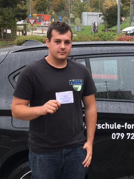 Praktische Führerprüfung - Philipp - 15.10.2019