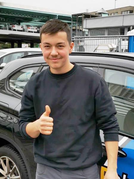 Praktische Führerprüfung - Eric - 31.10.2019