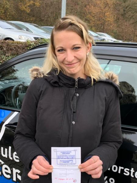 Praktische Führerprüfung - Tamara - 25.11.2019