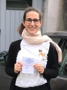 Praktische Führerprüfung - Manuela - 26.11.2019