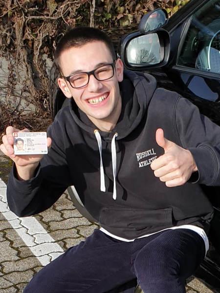 Praktische Führerprüfung - Matteo - 27.01.2020