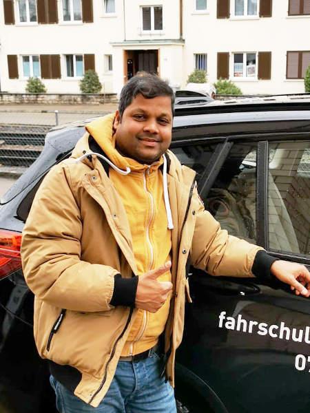 Praktische Führerprüfung - Logatharan - 28.01.2020
