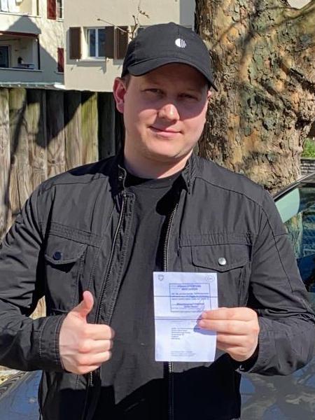 Praktische Führerprüfung - Maximilian - 13.03.2020