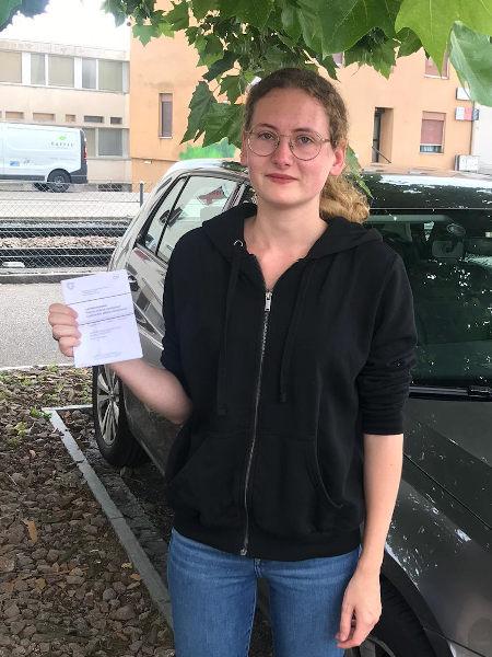 Praktische Führerprüfung - Giorgia - 03.07.2020