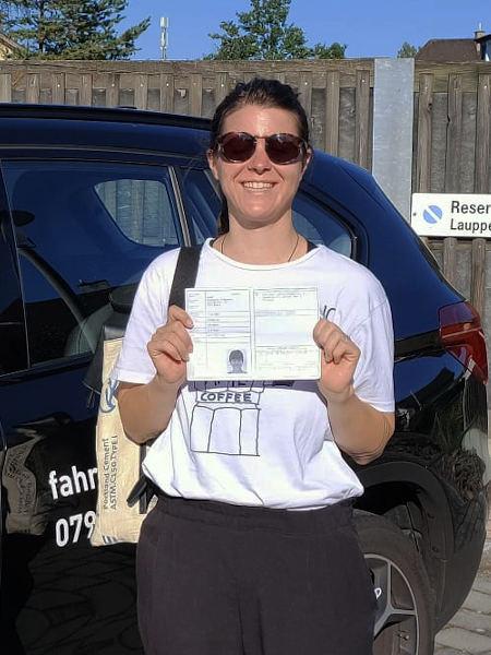 Praktische Führerprüfung - Stephanie - 20.08.2020