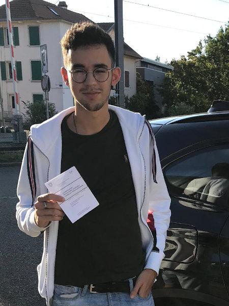 Praktische Führerprüfung - Eric - 21.08.2020