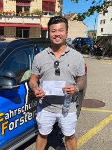 Praktische Führerprüfung - Thanh Le - 04.09.2020