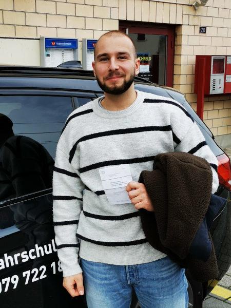 Praktische Führerprüfung - Marlon - 22.10.2020