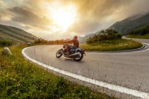 Motorrad Fahrstunden Hintergrundbild