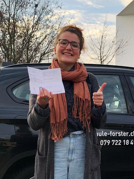 Praktische Führerprüfung - Meret - 23.11.2020