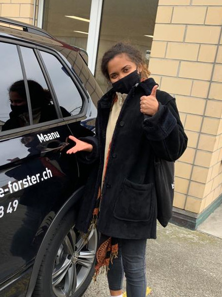 Praktische Führerprüfung - Alexia - 30.11.2020