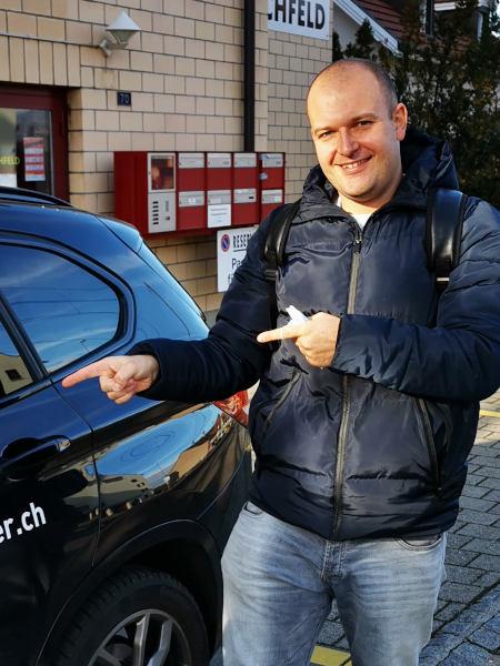 Praktische Führerprüfung - Nebojsa - 03.12.2020