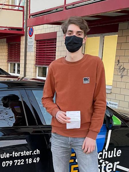 Praktische Führerprüfung - Tobias - 11.12.2020