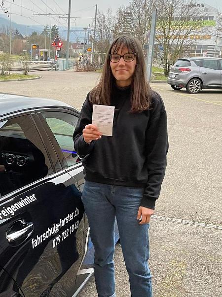 Praktische Führerprüfung - Fanny - 04.01.2021