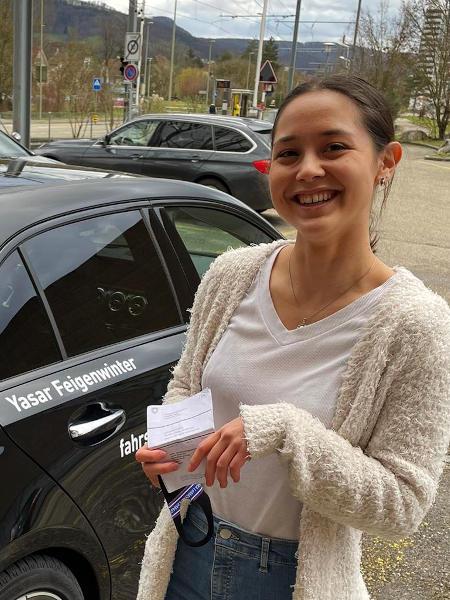 Praktische Führerprüfung - Selina - 29.01.2021