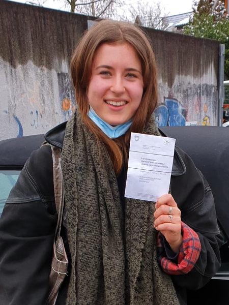 Praktische Führerprüfung - Olivia - 09.02.2021