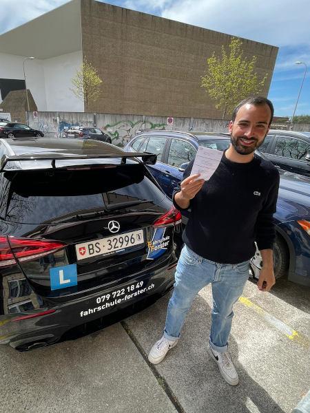 Praktische Führerprüfung - Amir - 09.04.2021