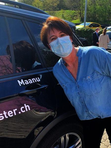 Praktische Führerprüfung - Manda - 09.04.2021