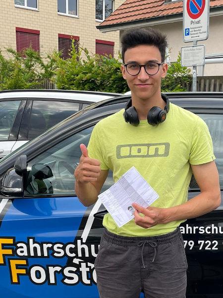 Praktische Führerprüfung - Till - 03.06.2021