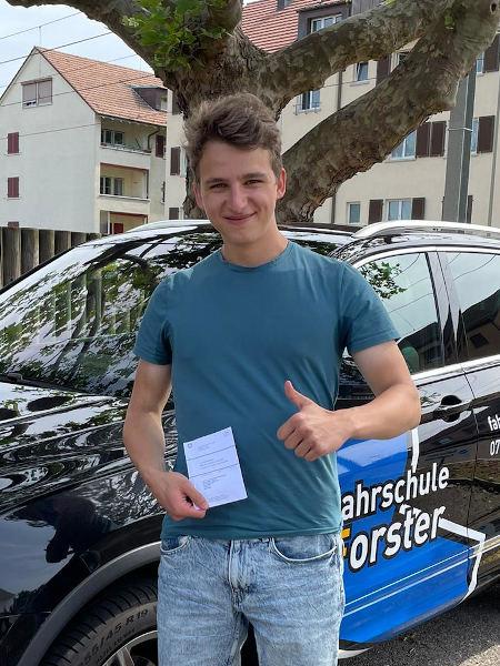 Praktische Führerprüfung - Jan - 17.06.2021