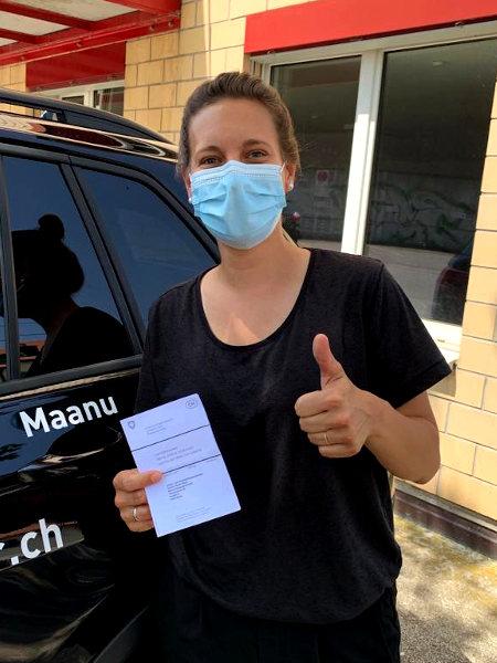 Praktische Führerprüfung - Janine - 18.06.2021