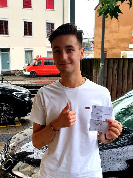 Praktische Führerprüfung - Milan - 06.07.2021
