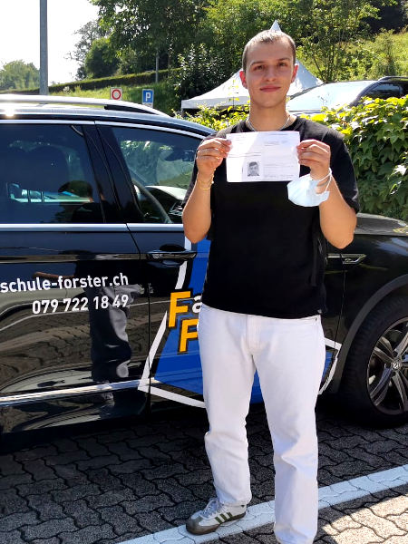 Praktische Führerprüfung - Domenico - 20.07.2021