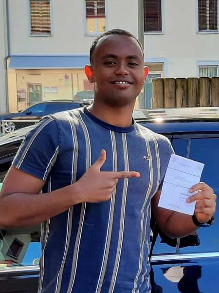 Praktische Führerprüfung - Abdi - 22.07.2021