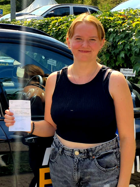 Praktische Führerprüfung - Joelle - 20.08.2021